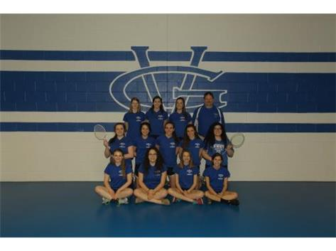 2015 Girls Badminton