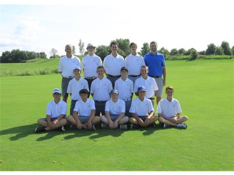 2016 F/S Boys Golf Team