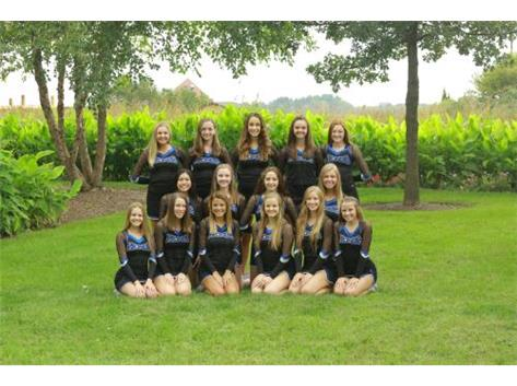 2016-2017 Varsity Dance Team