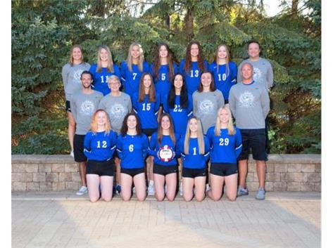 2021-2022 Volleyball Varsity - Girls