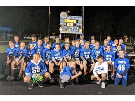 GHS Varsity team of the 2024 football season!