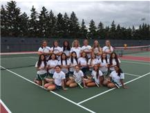 JV Tennis Team 2015