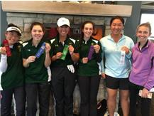 Ashley Suh(2nd), Hannah Levy(1st), Meghan Cruz(5th), Alexandra Michalak(7th),  Leah Won(3rd), & Emily Christopher