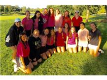 The Spartans & Titans played in a mixed team Pink Ball Scramble.