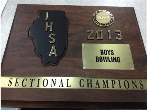2013 IHSA Sectional Championship Trophy