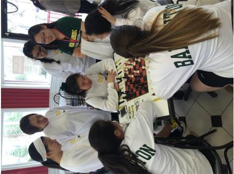 Our multi-talented team also knows how to play Chess
