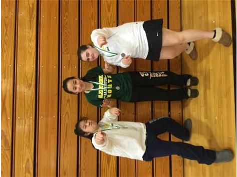 Sarah Chang placed a medal for singles and Christina Li & Ally Rosenbaum place a medal for doubles