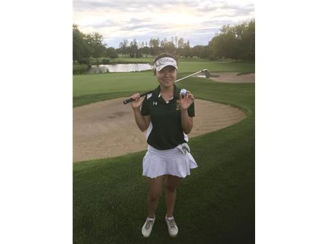 Ashley Choi Sinks Hole in One at Libertyville Invite! She dropped a 129 yard 8 iron into the cup at Pine Meadow!