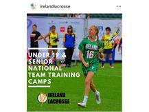 Noreen Andersen, GBS Class of 2015, Princeton University Class of 2019, will play in the European Cup in Israel for Team Ireland in summer 2019.