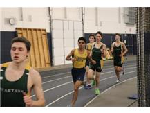 Mrugesh and James run 2 of the fastest 3200 Meter Run times in GBS Indoor Track and Field history!