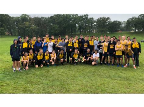 The Titan's battled the rain, mud and a tough course at Crystal Lake South.  Great efforts produced trophies at both levels!