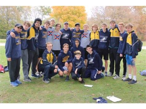 Congratulations to the Boys Cross Country Team for their 7th place finish at the IHSA Sectional.