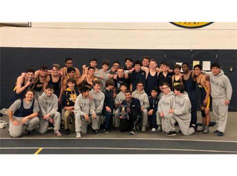 The freshman and sophomores won the 2018 Max Farley Invite
