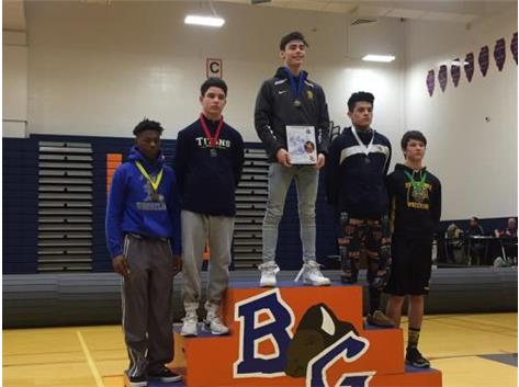 Will Collins 2nd Place Buffalo Grove 2018