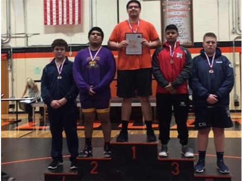 Charlie Tomsheck 4th place at Libertvyille JV Tournament 2018