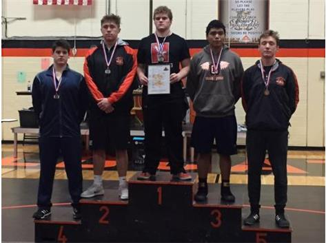 Stefanos Lahanis 4th place at Libertvyille JV Tournament 2018