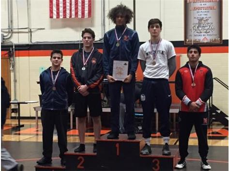 Starvos Lahanis 4th place at Libertvyille JV Tournament 2018