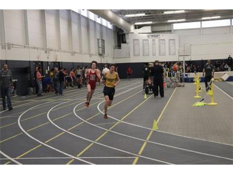 Will lowered the GBS Fieldhouse Record in the 3200 Meter Run!