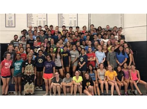 The Cross Country programs raised over $2500 for the Northfield Township Food Pantry at a recent practice.  The GBS Cross Country Program has now raised over $57,000 in 22 years for local families in need!  Great Work, Titans!