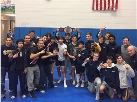 2019 Vernon Hills Team Dual Tournament Champions