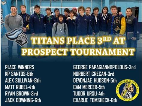 Titans finish 3rd at Varsity Invite