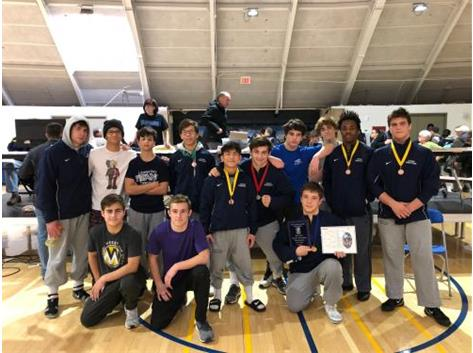 Varsity places 3rd at Rus Erb 2019