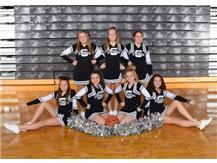 Graham 8th grade Cheerleaders
