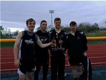 Champaign  County Meet 1st Place 4x400