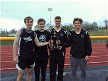 Champaign  County Meet 1st Place 4x100