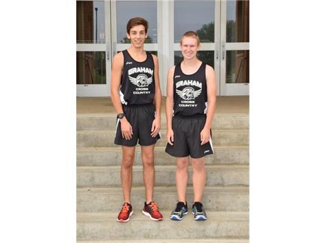 Senior Cross Country Runners