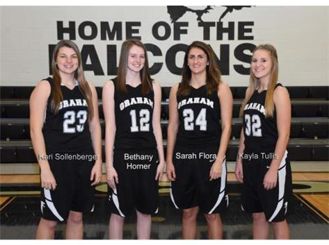 Graham Senior Girls Basketball Players