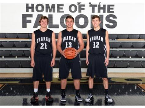 Graham Senior Boys Basketball Players
