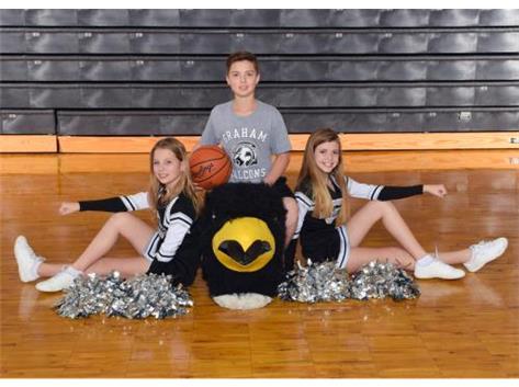 Graham 7th grade Cheerleaders