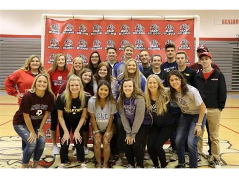 Congratulations to our college bound student athletes