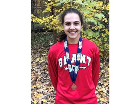 Congratulations to Aly Negovetich for her 4th place finish at the IHSA State Cross Country Meet in Peoria and earning ALL STATE HONORS!