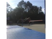 Ashari Lyons in the high jump.