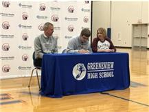 Ethan Bradds Signing to Eastern Kentucky University Feb 1, 2017