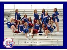 High School Football Cheerleading Fall 2018
