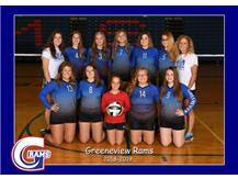 High School Reserve Volleyball Fall 2018