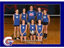 7th Grade Volleyball Fall 2018