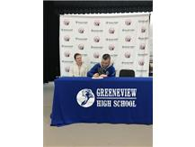 Josh Robinson Signing to Clark State