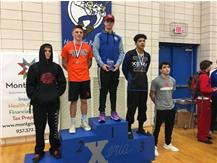 Devan Hendricks 1st at Xenia Inv Dec