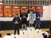 Chase Jordan 3rd at Beavercreek Inv Jan 2019