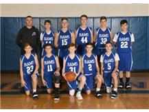 8th Boys Basketball 2018-19