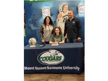 Kayli Vipperman signing to Mount Vernon Nazarene University