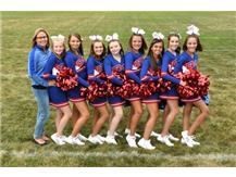 MS Football Cheerleading Fall 2019