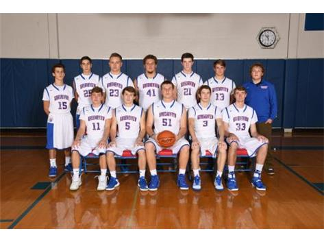 Varsity Boys Basketball 2016 2017