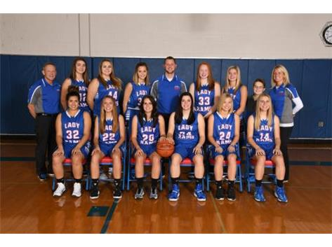 Varsity Girls Basketball 2016 2017