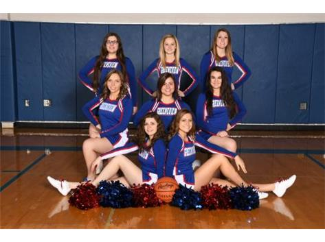 Varsity Basketball Cheerleading 2016 2017
