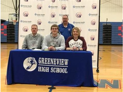 Ethan Bradds Signing to Eastern Kentucky University
